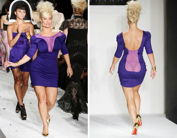 Coco Austin- Purple Sheer