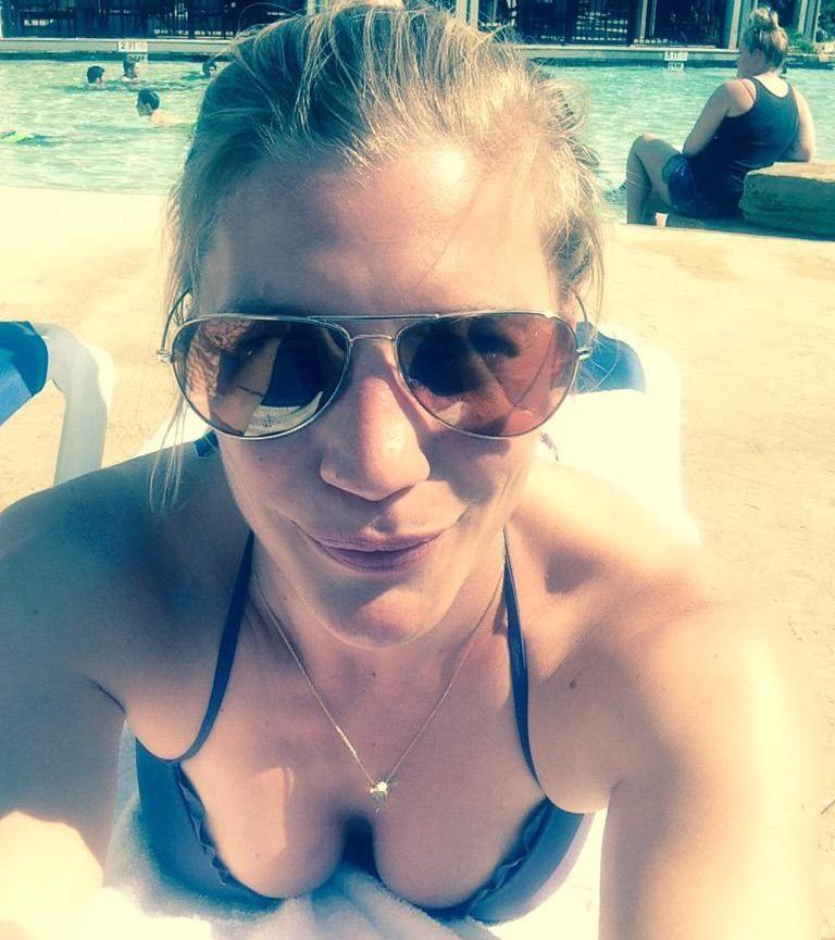Katee Sackhoff sexy bikini