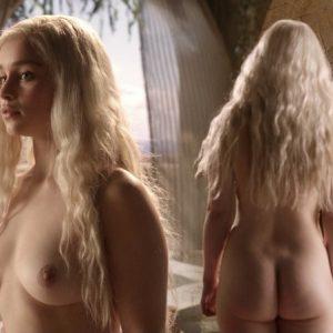 Emilia Clarke's Naked Scenes In Game Of Thrones