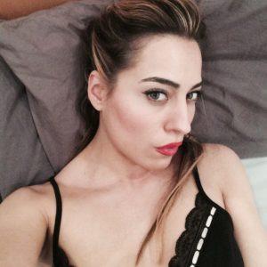 Paola Saulino seductive sex look