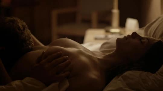 actress ashley greene sex scene getting her tits groped in bed