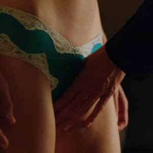 celeb melissa benoist getting her pussy touched over her booty shorts