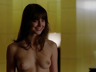 sexy melissa benoist nipples exposed and smiling