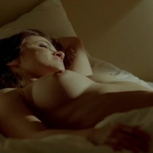 glee star melissa benoist nude tits in hot sex scene