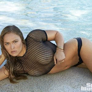 Ronda Rousey nude in Sports Illustrated