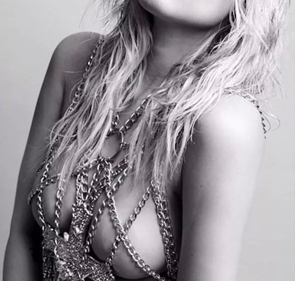 topless chanel west coast in chains