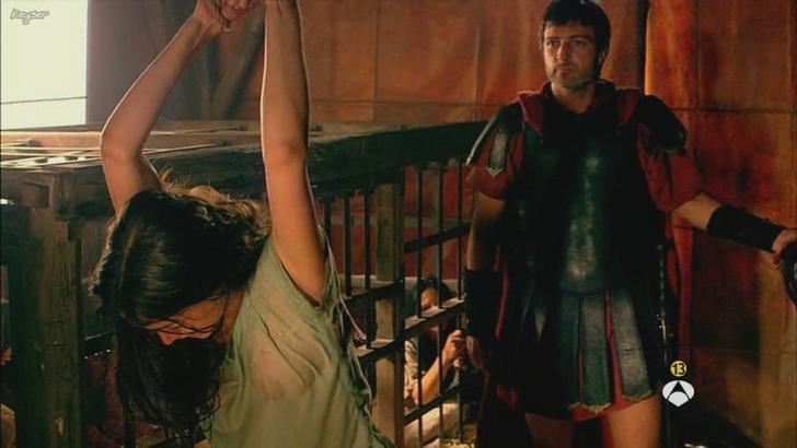 Ana de Armas bare nipples in Hispania La Leyenda (1)