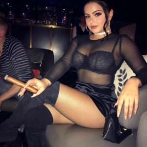 Ariel Winter thick sexy cigar