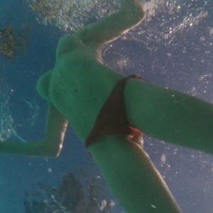 topless pic of amanda seyfriend under water