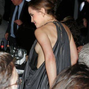 Emma Watson nip slip exposed