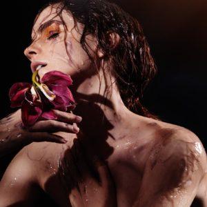Emma Watson uncensored wet photoshoot