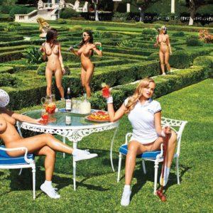 Amanda Cerny nude garden