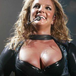 Britney Spears Exposed naked nipples (1)