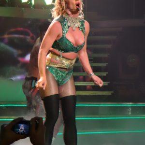 Britney Spears Exposed naked nipples (2)