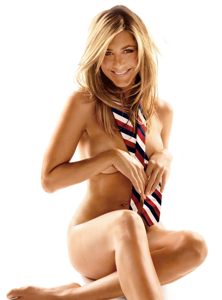 Jennifer Aniston naked completely