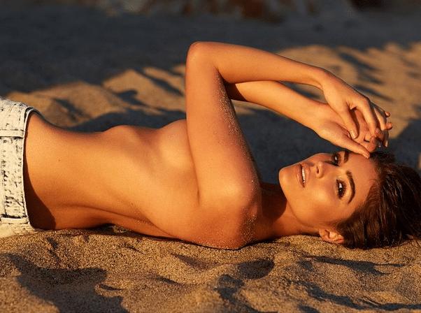 Olivia Culpo topless (1)