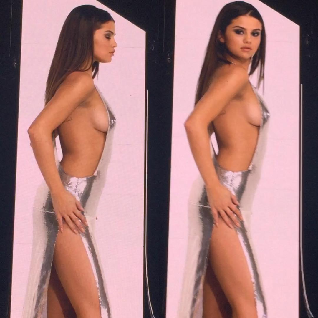 Selena Gomez naked boobs