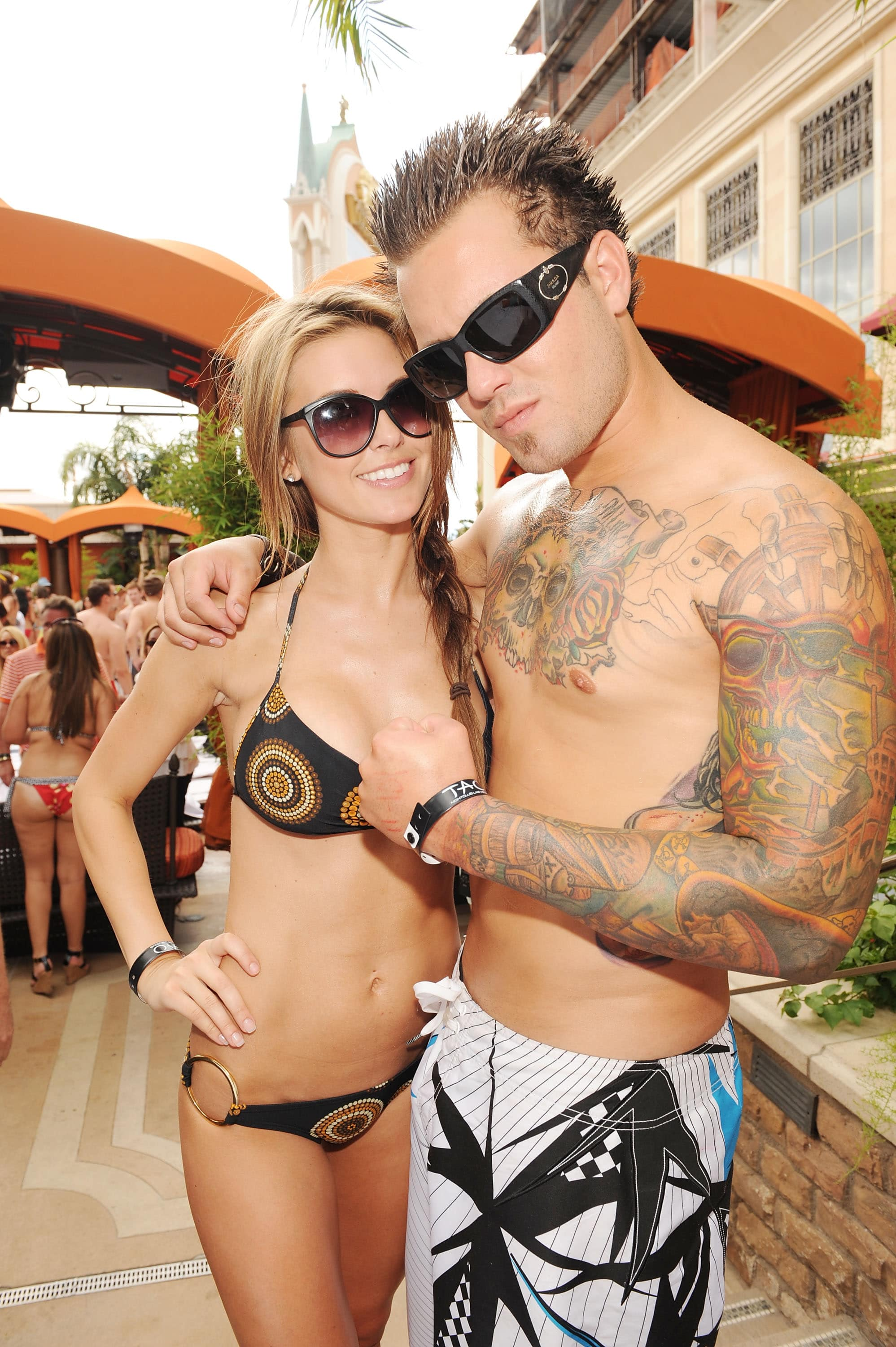 Audrina Patridge with a bro