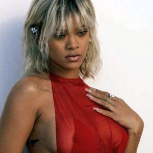 Rihanna pussy showing