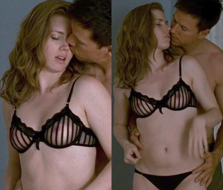 Amy Adams boobs show