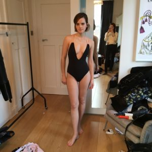 Emma Watson leaked cleavage