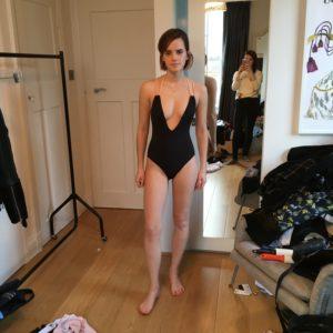 Emma Watson topless