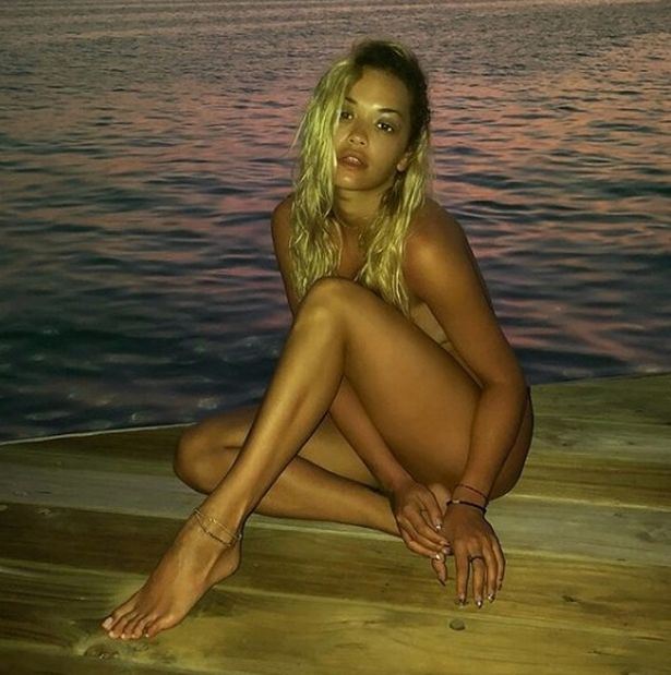 Rita Ora leaked naked