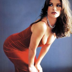 Catherine Zeta Jones big boobs
