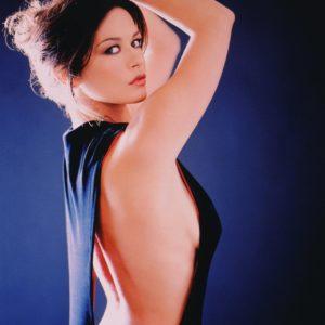 Catherine Zeta Jones topless pic