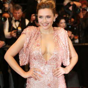 Elizabeth Olsen naked boobs