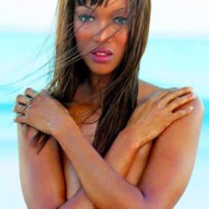 Tyra Banks posing