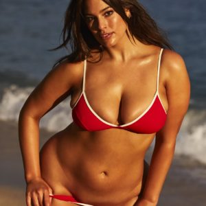 Ashley Graham hard nipples
