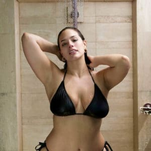 Ashley Graham nip slip