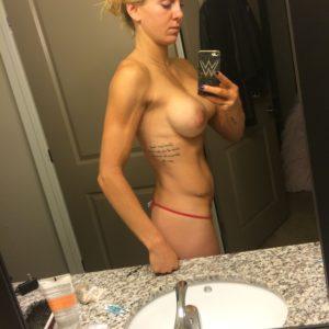 Charlotte Flair nude ass