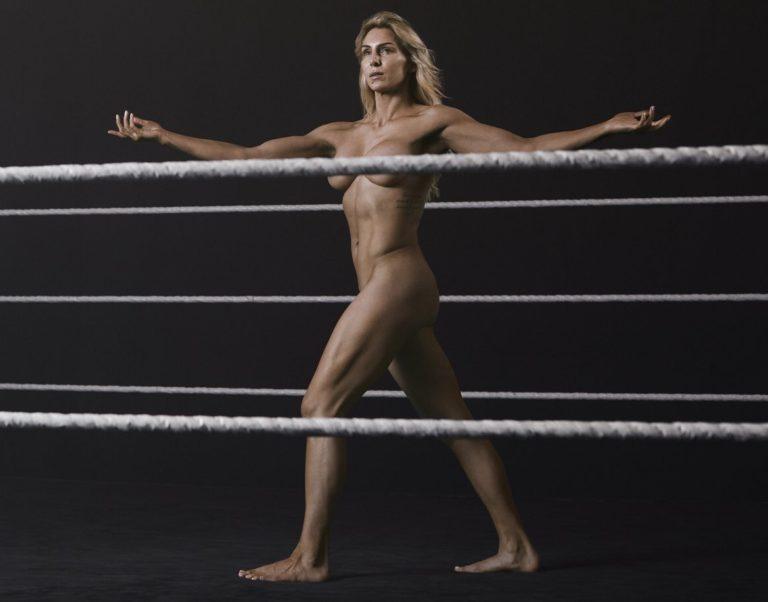 Charlotte Flair braless