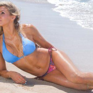Charlotte Flair natural tits