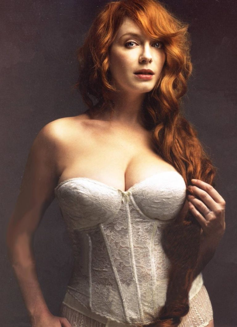 Christina Hendricks hot boobs