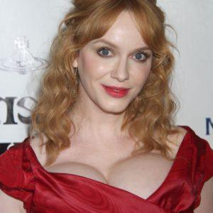 Christina Hendricks natural tits