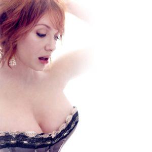 Christina Hendricks pussy showing