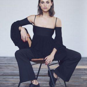 Alicia Vikander booty