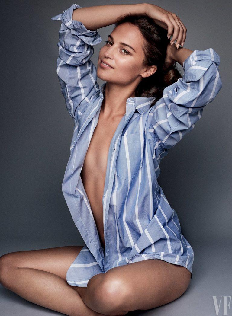 Alicia Vikander leaked naked
