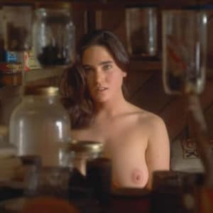Jennifer Connelly boobs show