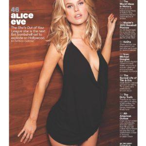 Alice Eve hot boobs