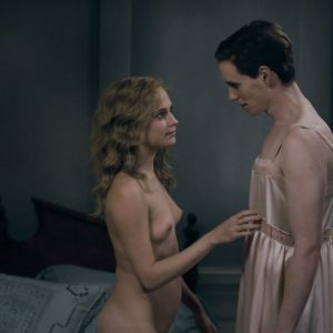 Alicia Vikander naked and sexy The Danish Girl
