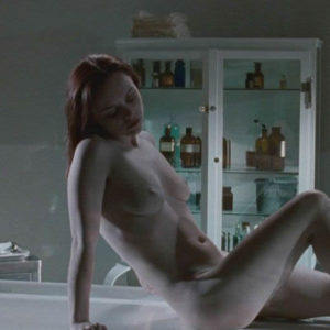 Christina Ricci undressed