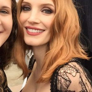 Jessica Chastain leaked selfie