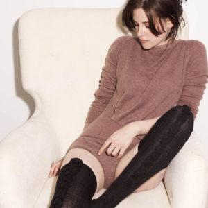 Kristen Stewart thigh high stockings
