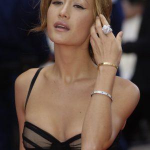 Maggie Q boobs exposed