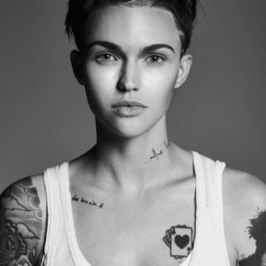 Ruby Rose booty