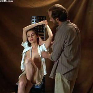 Alyssa Milano hard nipples